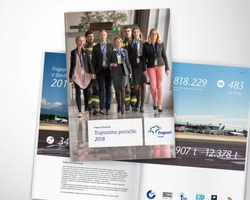 Fraport Slovenija Trajnostno poročilo 2018